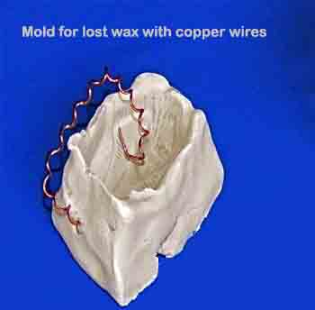 mold_for_lost_wax_with_copper_wires