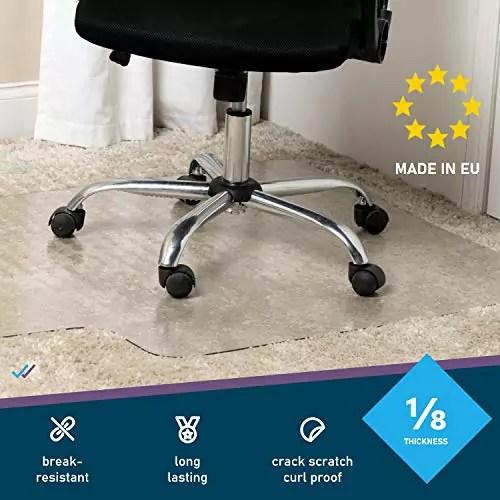 11 meilleurs tapis de chaise de bureau
