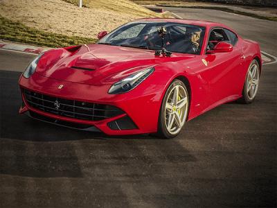 Ferrari F12 and F360
