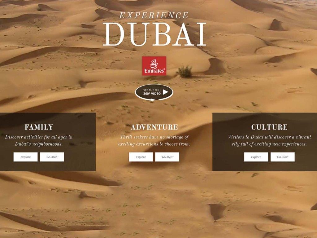 Emirates Airline 360º Videos