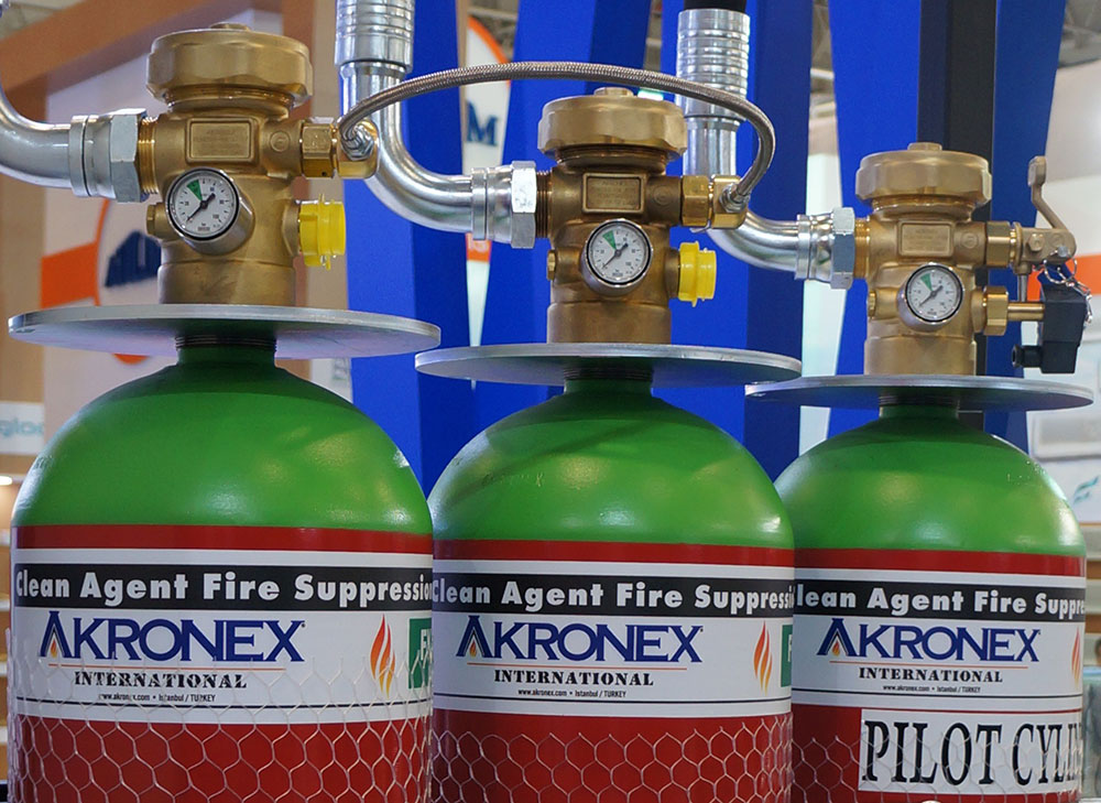fire suppression clean agent from akronex