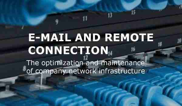 email and remote connection grid image