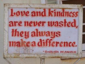 Liebe und Freundlichkeit..