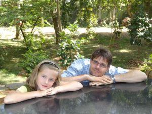 Julia und Papa...
