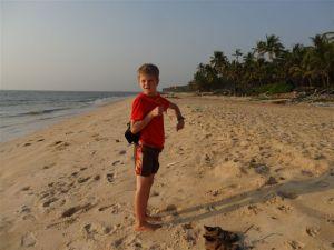 Ein Strand fast fuer sich allein...