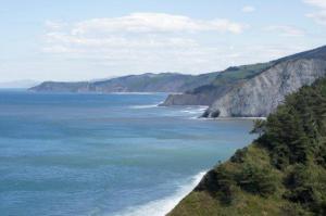 Die Küste Nordspaniens...