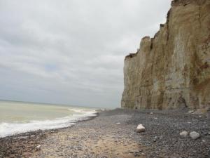Die Kalkklippen der Normandie