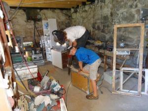 In der Werkstatt... Eine Armbrust wird hergestellt!