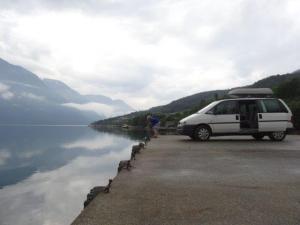 Ruhe findet man schnell mal in Norwegen...