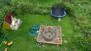 Ein liebevoller Garten für Kinder