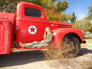 Ein alter Truck...
