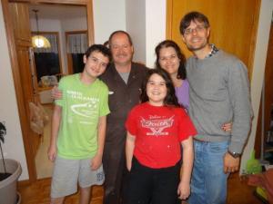 Kims Familie...
