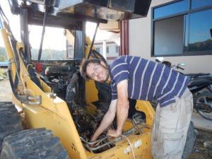 Claudio repariert...