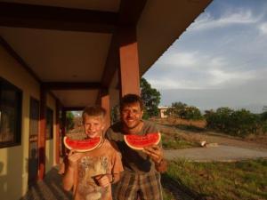 Die Melonenzeit haben in Fülle genossen...
