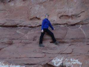 Welch ein Kletterparadies...