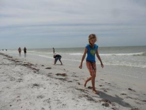 Am Clear Water Strand in Florida...