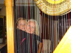 Das Trauminstrument von Julia... sie möchte so gerne lernen die Harfe zu spielen...