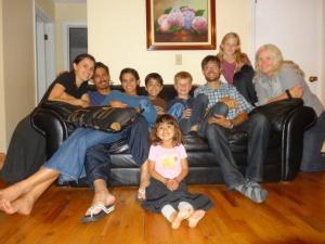Familie Santos... wir verbrachten unsere letzte Woche in den Staaten bei ihnen... es war ein Segen und so schön...