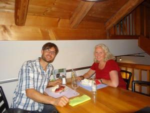 Einfach schnell abtauchen... Claudio und ich konnten uns eine kleine Auszeit nehmen im Packchaos... wir speisten wunderbar lecker im Frohsinn in Weinfelden!