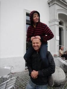 Mit Onkel Björn unterwegs...