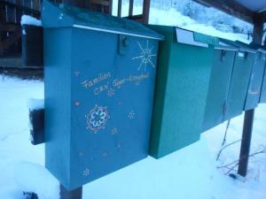 Unser Briefkasten... der sich mit uns freut mit liebe Post gefüllt zu werden! :-)