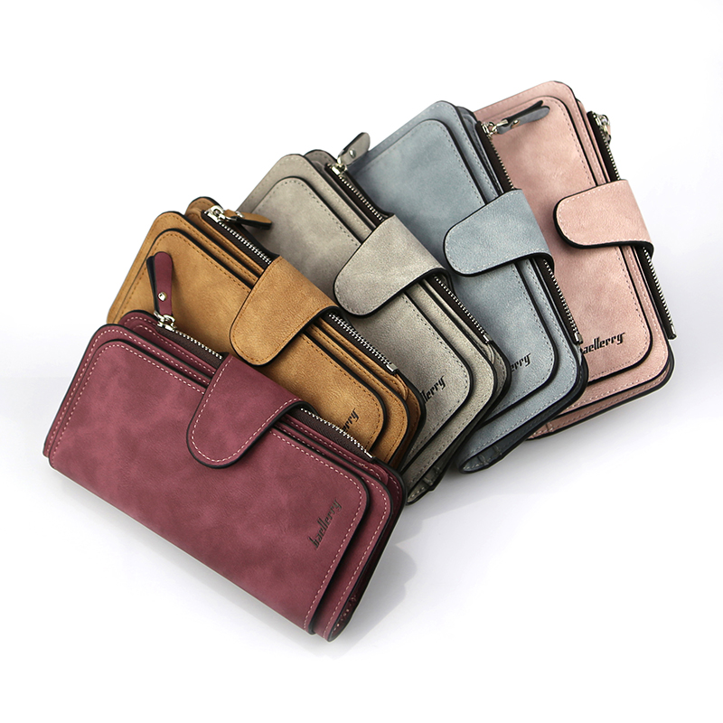 Women's Colorful Wallet with Zipper