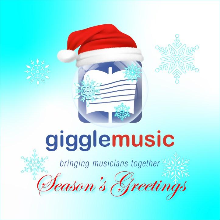 gigglemusic christmas card