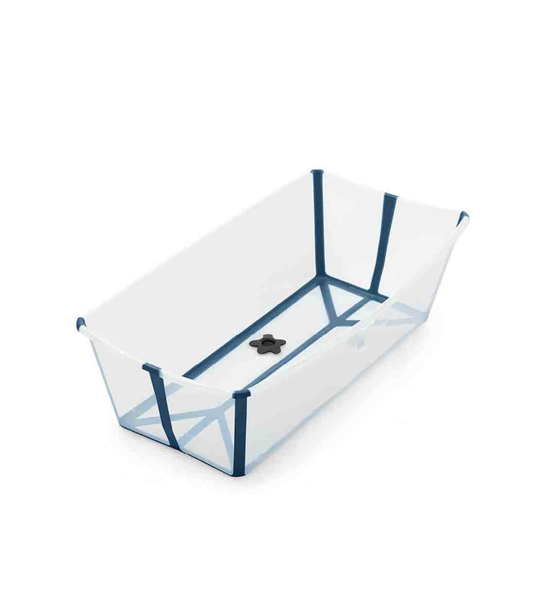 Stokke® Flexi Bath® 加大碼嬰兒浴盤 - 藍彩透明