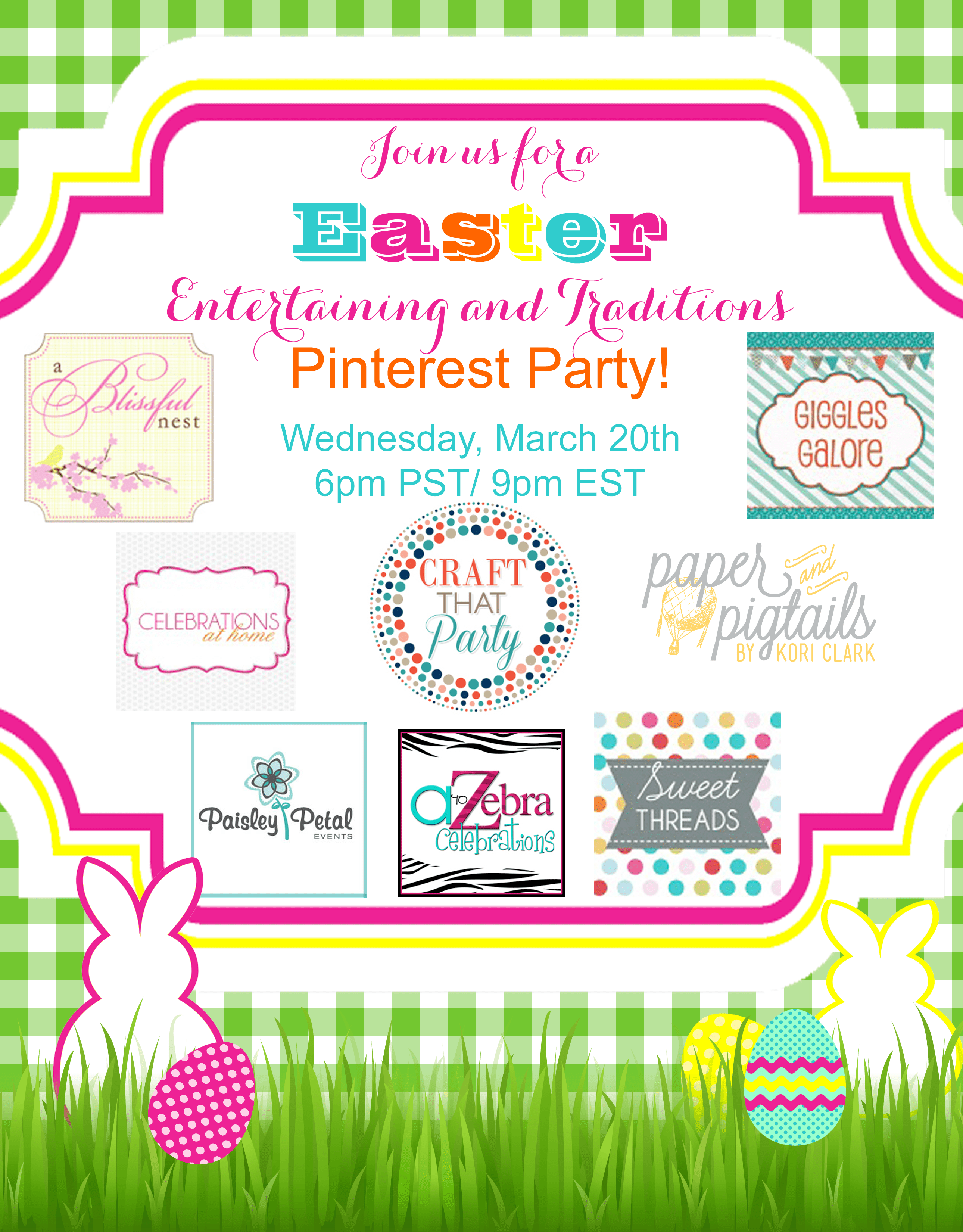 Easter Entertaining And Traditions Pinterest Party