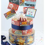 How To Make A Lottery Ticket Cake Teacher Appreciation Gift Ideas
