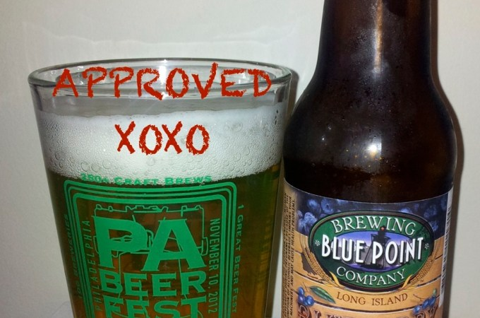Malt Monday's Beer Review of the Week: Blue Point Brewing Company Blueberry Ale