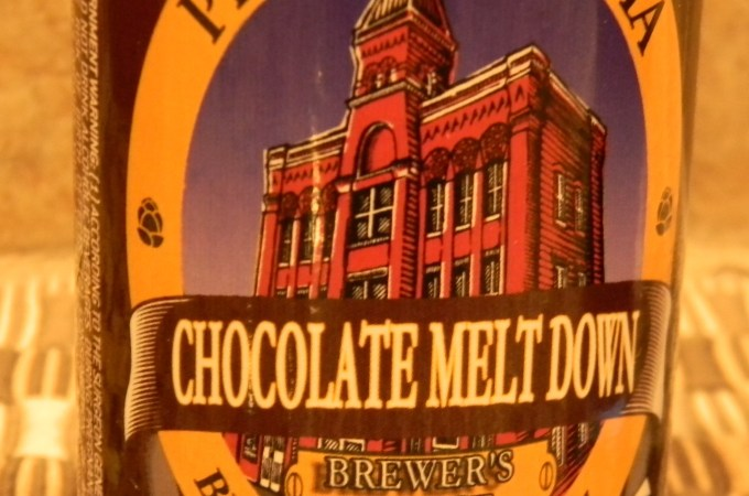 Malt Monday Beer Review of the Week:  Penn Brewery's Chocolate Meltdown Stout