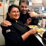 Serrano Owner Donal McCoy and Chef Gina Rodriguez