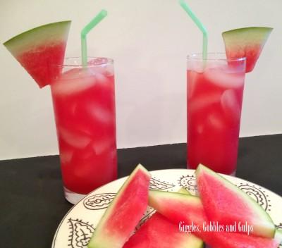 Easy Watermelon Agua Fresca