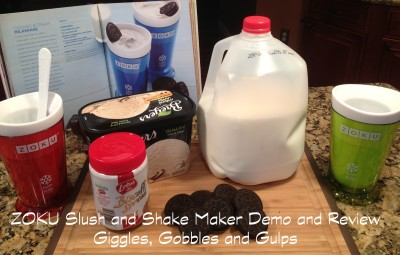 Zoku Slush and Shake Maker Demo and Review