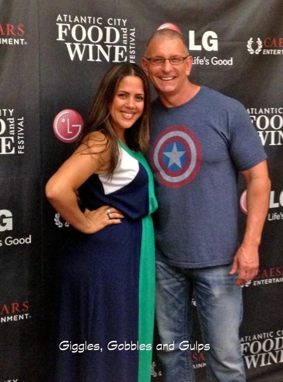 Me and Chef Robert Irvine