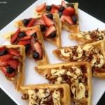 5 Days of Back To School Breakfast Ideas – Breakfast Waffle Bruschetta (Day #4)