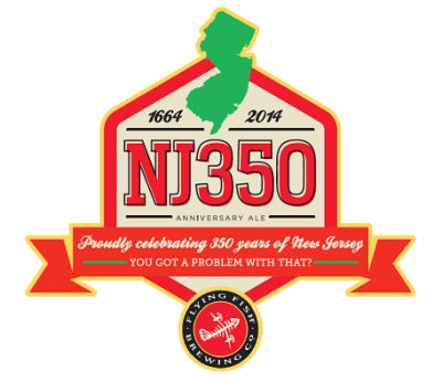Malt Monday Beer News of the Week:  Flying Fish Brewing Company NJ350 Anniversary Ale