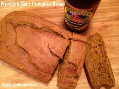 Malt Mondays: Pumpkin Beer Pumpkin Bread