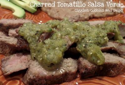 Charred Tomatillo Salsa Verde