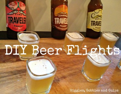 Traveler Shandy Tasting Notes and DIY Beer Tasting Flights