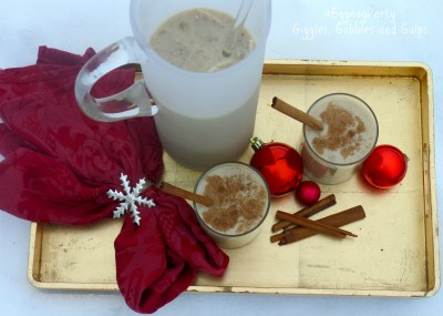 Safest Choice #EggNogParty: Coquito Puerto Rican Coconut Eggnog