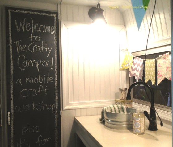 #CraftyCamper Mom Cave