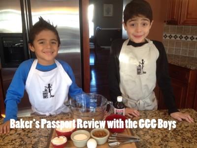 My Kids Cook:  Baker's Passport Review & Giveaway