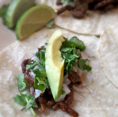 Perfect Bites for the Big Game:  Authentic Steak Enchilada Tacos Recipe