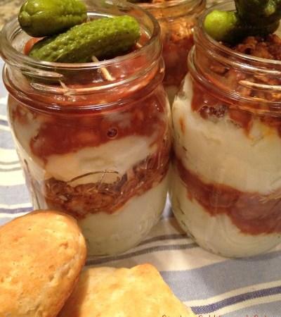 Mason Jar Barbecue Meal