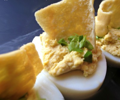 Eggland's Best Hummus Deviled Eggs