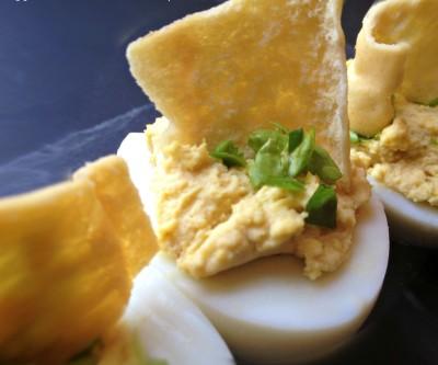 Eggland's Best Hummus Deviled Eggs