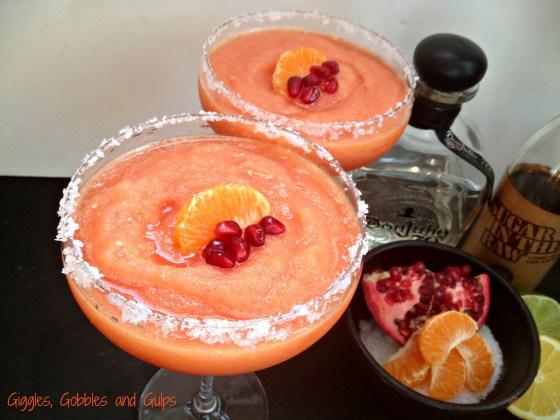 pomegranate clementine margarita