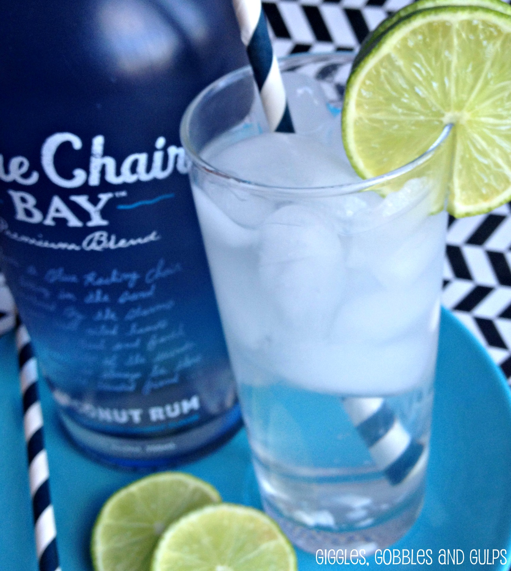 Coconut Lime Cooler w Blue Chair Bay Rum Giggles Gobbles and Gulps